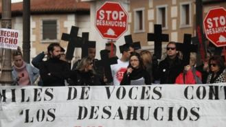 Un 27% de madrileños 'está en riesgo' de perder su vivienda