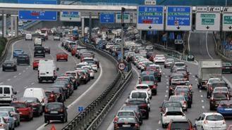 DGT: 1,3 M de desplazamientos en las carreteras madrileñas este puente
