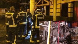Dados de alta los once hospitalizados por la caída de un falso techo en la discoteca `La Suegra´