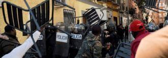 Cuatro detenidos por los disturbios de Lavapiés tras la muerte de Mbaye