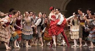 La versión de ballet clásico de `Don Quijote´ llega al Teatro Real