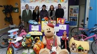 Medio millar de donaciones en la campaña navideña de juguetes