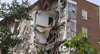 Vecinos del edificio derrumbado en Carabanchel pagarán los gastos urbanísticos