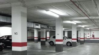La EMSV pone vigilancia en el aparcamiento de un edificio de viviendas sociales