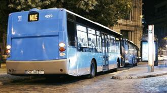 La EMT reduce el número de autobuses nocturnos hasta el 1 de septiembre