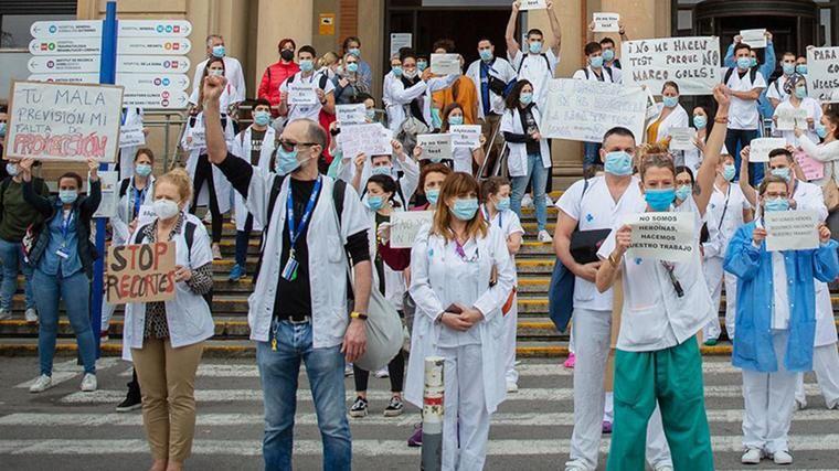 Satse pide renoivar todos los contratos de enfermería hasta septiembre de 2021