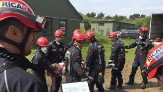 La Comunidad pone el ERICAM a disposición de Interior para desplazarse a México tras el terremoto