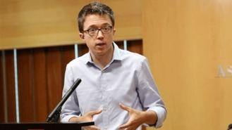 Errejón pide la abstención de 3 diputados de C,s y él está dispuesto a no entrar en el Gobierno