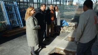 Arranca la construcción de una escalera de emergencia en el CEIP Santiago Apóstol