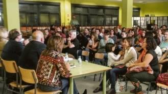 Una plataforma reclama en la Asamblea más plazas escolares para Villa de Vallecas