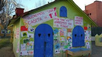Padres de una escuela infantil piden la retirada 'urgente' del amianto de los tejado