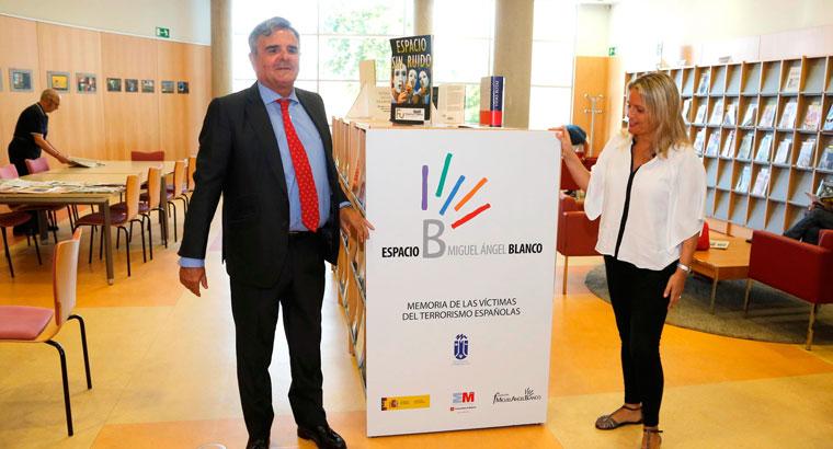 Miguel Angel Blanco recordado con un espacio en la biblioteca municipal