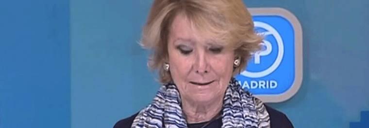 El PP no abrir� expediente a Aguirre por el `caso P�nica�