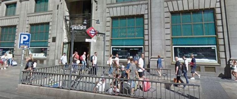 El Metro de Gran Via cerrado hasta abril por obras