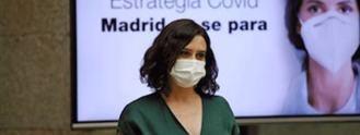 Madrid: Mascarilla obigatoria, reuniones limitadas a 10 personas y cartilla Covid