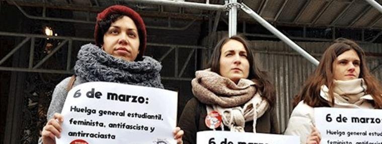 Los estudiantes se unen a la guerra del `pin parental´, irán a la huelga el 6-M