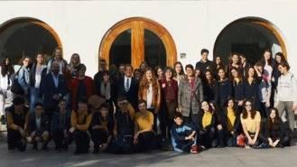 Partida recibe a los estudiantes de intercambio de Secundaria de Hannover