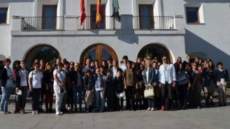 Partida recibe a una veintena de estudiantes y profesores de cuatro países europeos