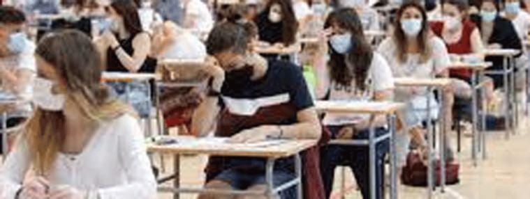 Más de 41.0000 alumnos se enfrentan desde este lunes a la EvAU