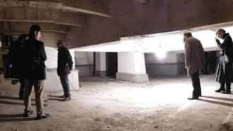 Familiares de víctimas del fanquismo acceden a la cripta del Valle de los Caídos
