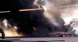 Siniestro del F-16: 5 militares franceses y 1 italiano ingresados en Madrid