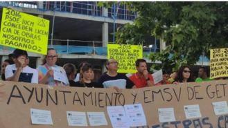 Afectados de las 147 viviendas de la EMSV se manifestarán ante el Ayuntamiento