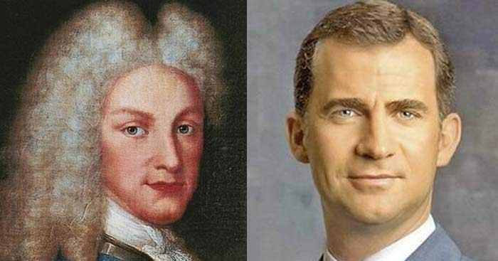 Felipe VI tiene el mismo problema que su tatarabuelo Felipe V