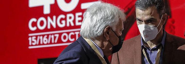 Felipe y Sánchez 40 años del PSOE para volver a empeza