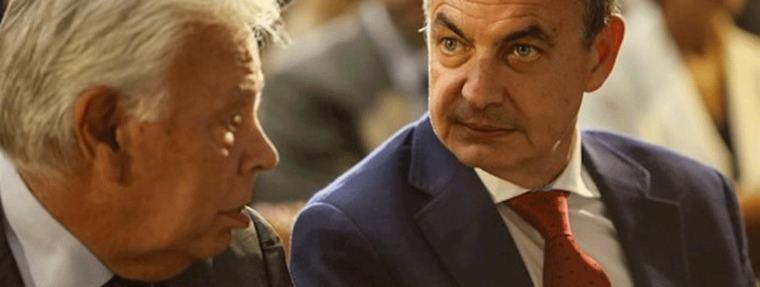 González y Zapatero destapan las dos caras del PSOE ante la visita de Guaidó