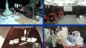 Desalojados 56 menores que consumían alcohol y marihuana en una fiesta ilegal con sobreaforo