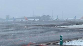 El aeropuerto de Barajas puede verse afectado por la borrasca `Filomena´