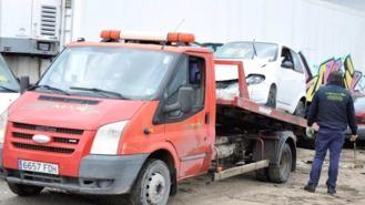 La Fiscalía denuncia a una empresa de desguace de coches por incumplir normativa ambiental