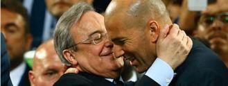 Zizou, el bereber que hace feliz a Florentino