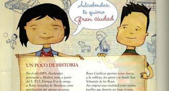 Vinuesa ignora en un folleto para los escolares los gobiernos de 1979 a 2007