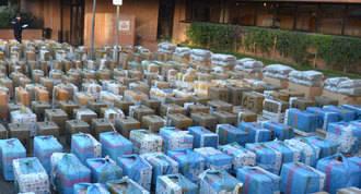 Cae una organización que introducía droga desde Marruecos