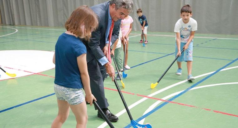 Las colonias deportivas han congregado a más de 500 niños