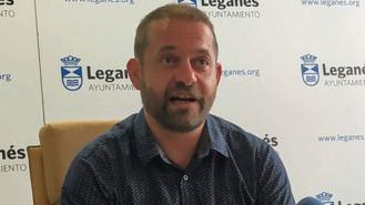 Fran Muñoz, designado candidato a la Alcaldía por Leganemos para el 26-M