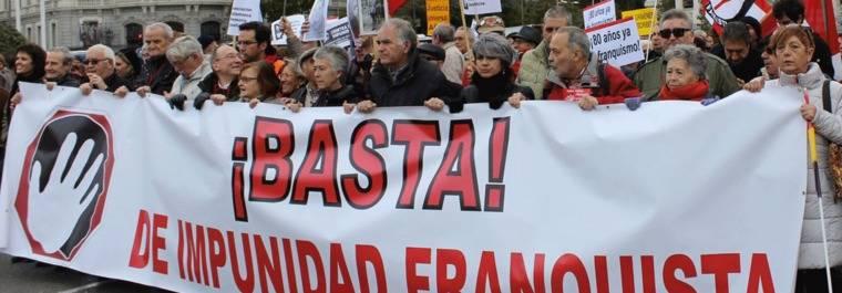 Ahora Madrid y PSOE preparan la querella contra los crímenes franquistas