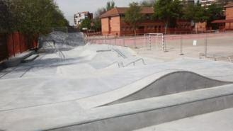 'Skatepark' y 6 espacios deportivos reabren el viernes, aforos de 40 personas
