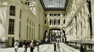 La Galaría de Cristal del Palacio de Cibeles será un jardín con hiedra y palmeras