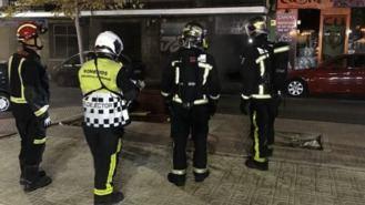 Cuatro mujeres atendidas en el incendio de la Galería Comercial Ntra. Señora del Rosario