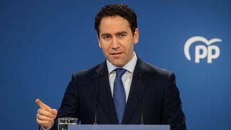 Génova del Congreso del PP de Madrid: 'Existen dos liderazgos, el de Almeida y el de Ayuso'