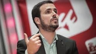 """Garzón tilde de """"política ficción"""" que Sánchez deje la candidatura de IUCM"""
