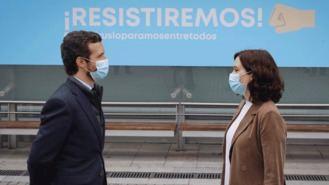`Génova´cierra filas con Ayuso: Sánchez llega 'meses tarde para dar apoyo a Madrid'
