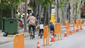Peatonalizadas varias calles para guardar distancia por el aumento de contagios