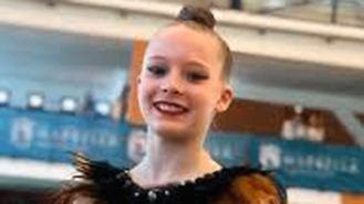 La gimnasta Cristina Korniychuk consigue plata y bronce en el Campeonato de España