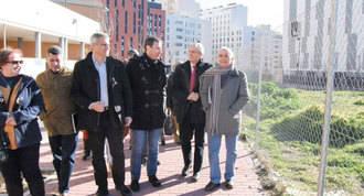 Gómez se compromete a construir un centro de salud en el PAU-4