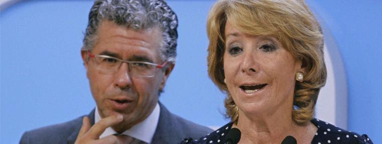 Aguirre descarta querellarse contra Granados, no tiene 'dinero para abogados'