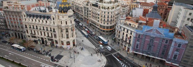 Madrid estrena su nueva Gran Vía