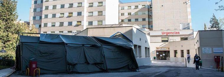 La biblioteca del Gregorio Marañón se reconvierte en UCI con 19 camas